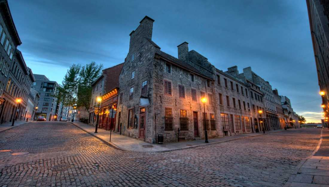 Old Montreal, Canada