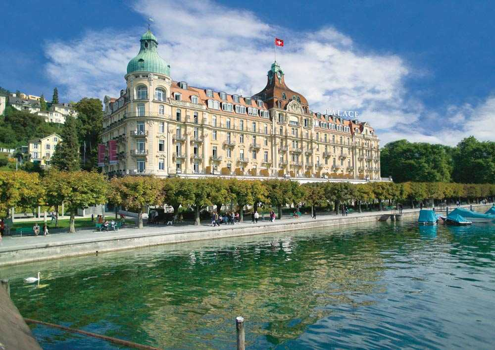 Best Luxury Hotel In Switzerland