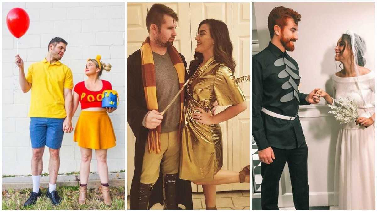 Couple Themed Halloween Costumes.12 Spooky Punny And Totally Party Ready Halloween Couples Costume Ideas To Make You A Hit Tonight