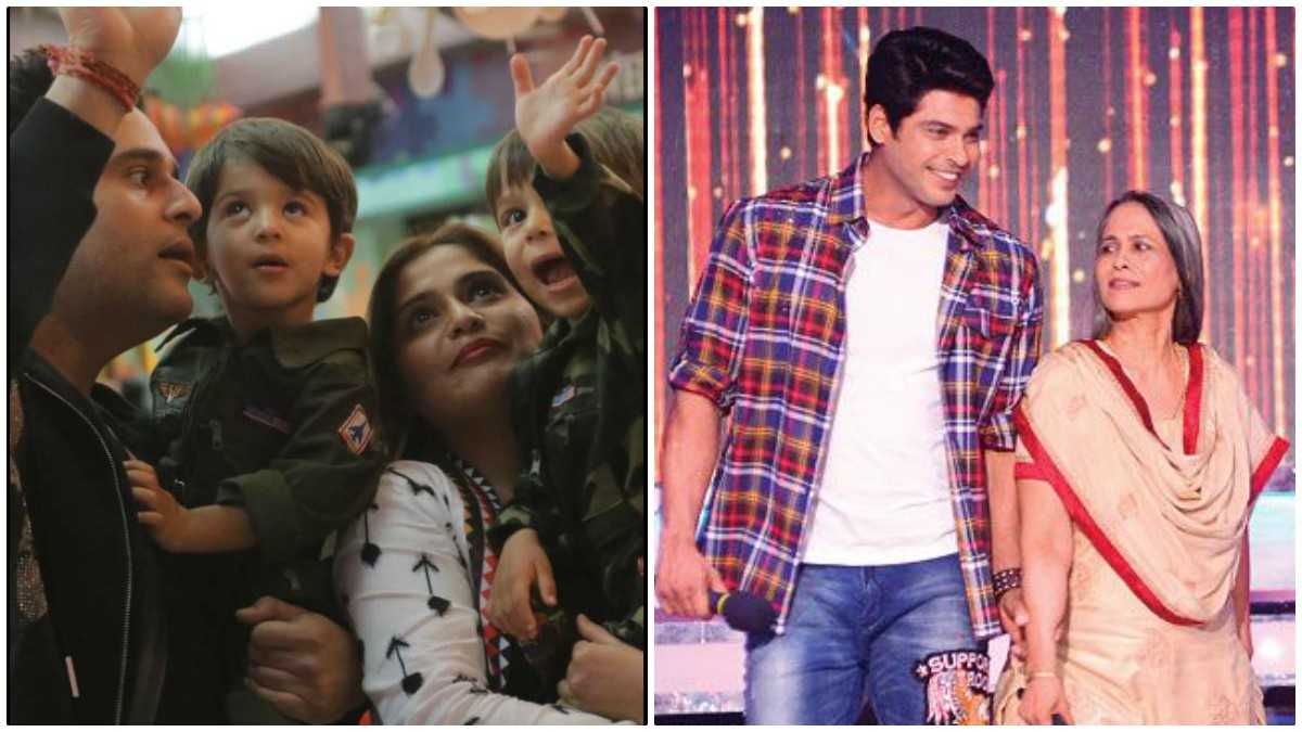 Family Time On Bigg Boss 13 Everyone From Sidharth Shukla S