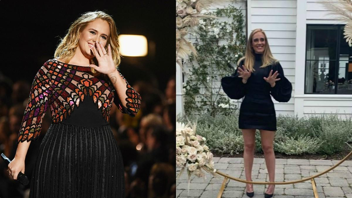 Adele's 7 stone weight loss new look