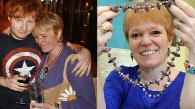 Ed Sheeran's Mother Forced To Stall Her Jewelry Business Due To Coronavirus