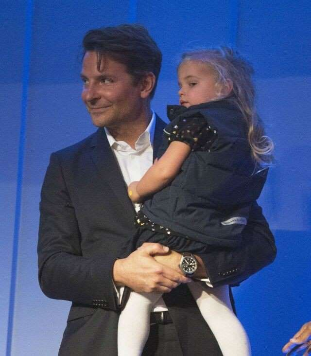 Bradley Cooper's daughter accompanied him to black tie events