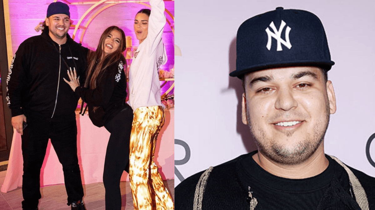 Rob Kardashian Transformation