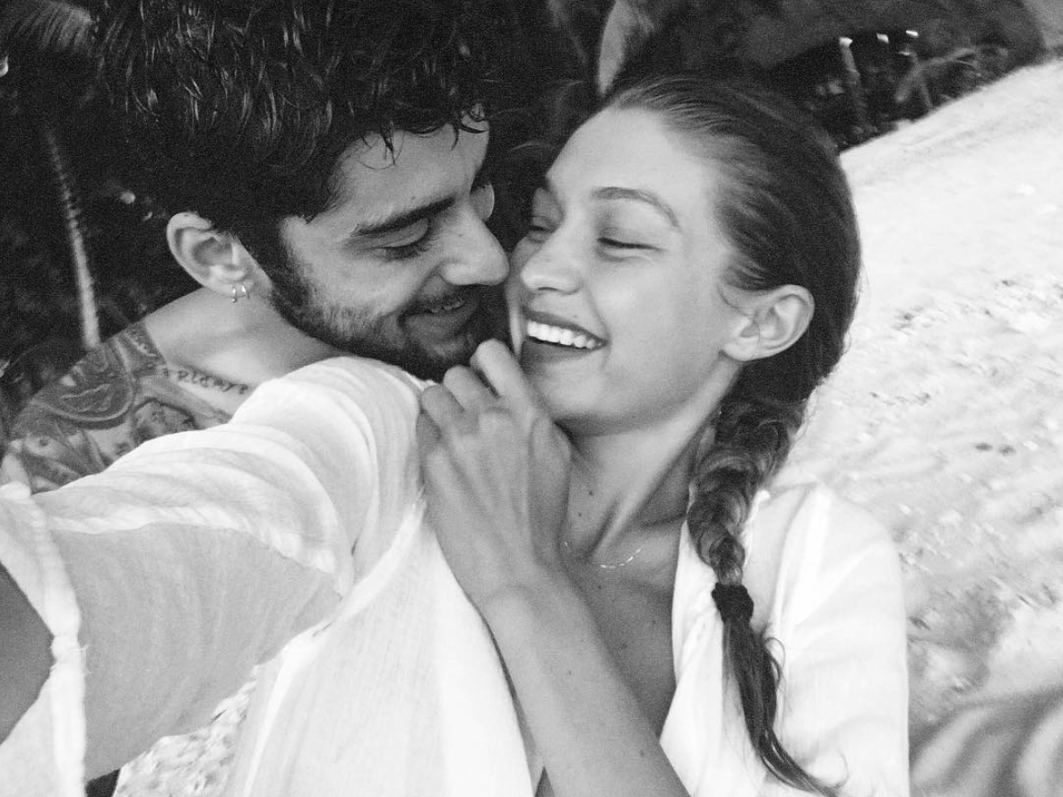 Mom to be Gigi Hadid posts an adorable photo with Zayn Malik