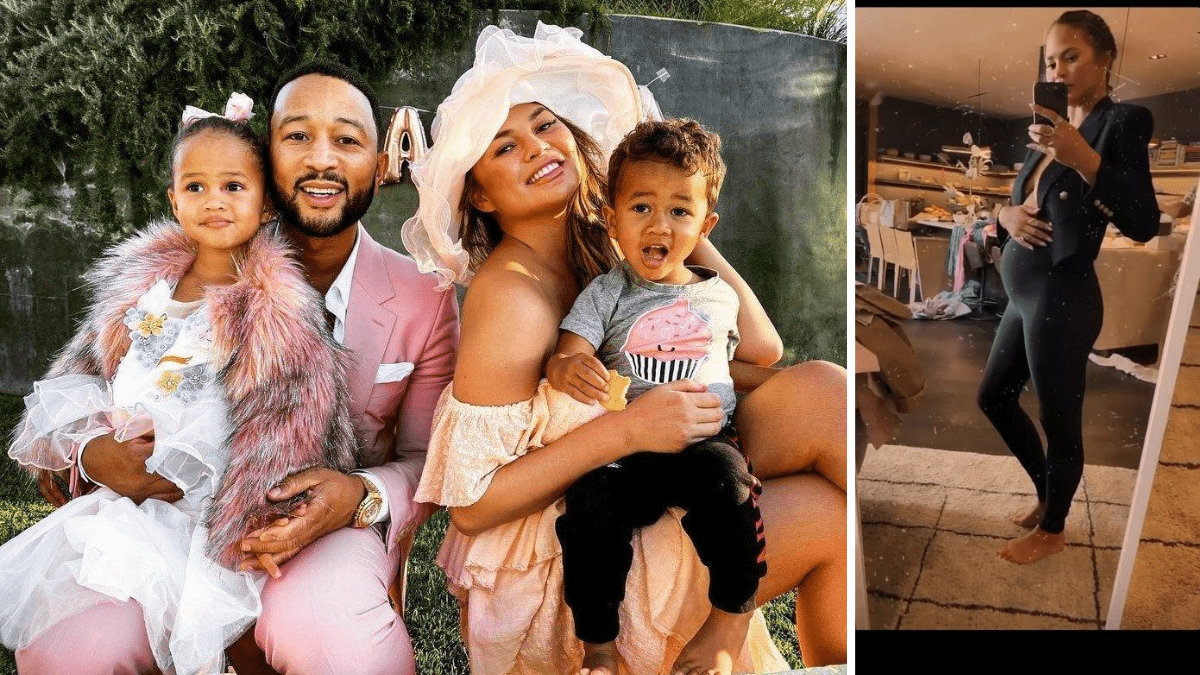 John Legend and Chrissy Teigen expecting