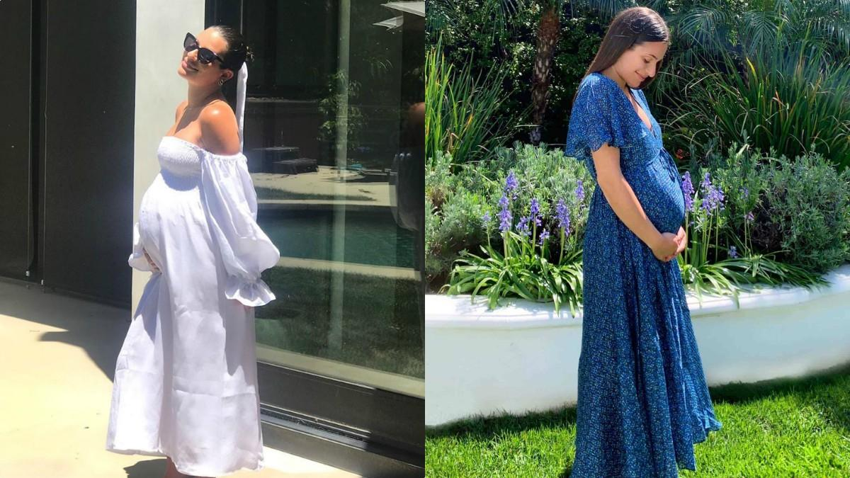 Lea Michele maternity outfits
