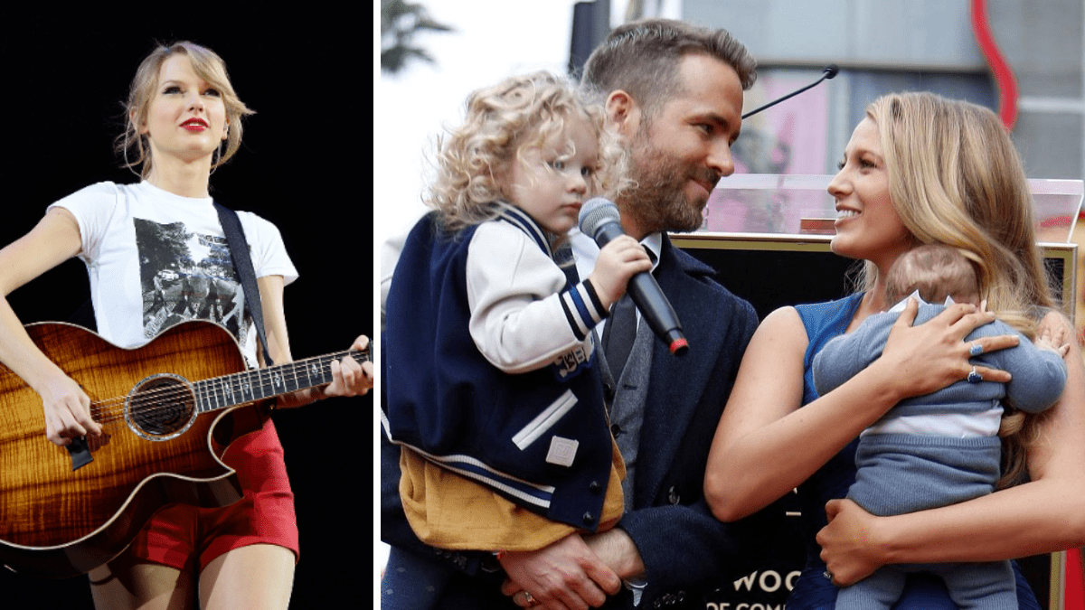 Taylor Swift, Blake Lively's daughter, Blake lively and Ryan Reynolds kids