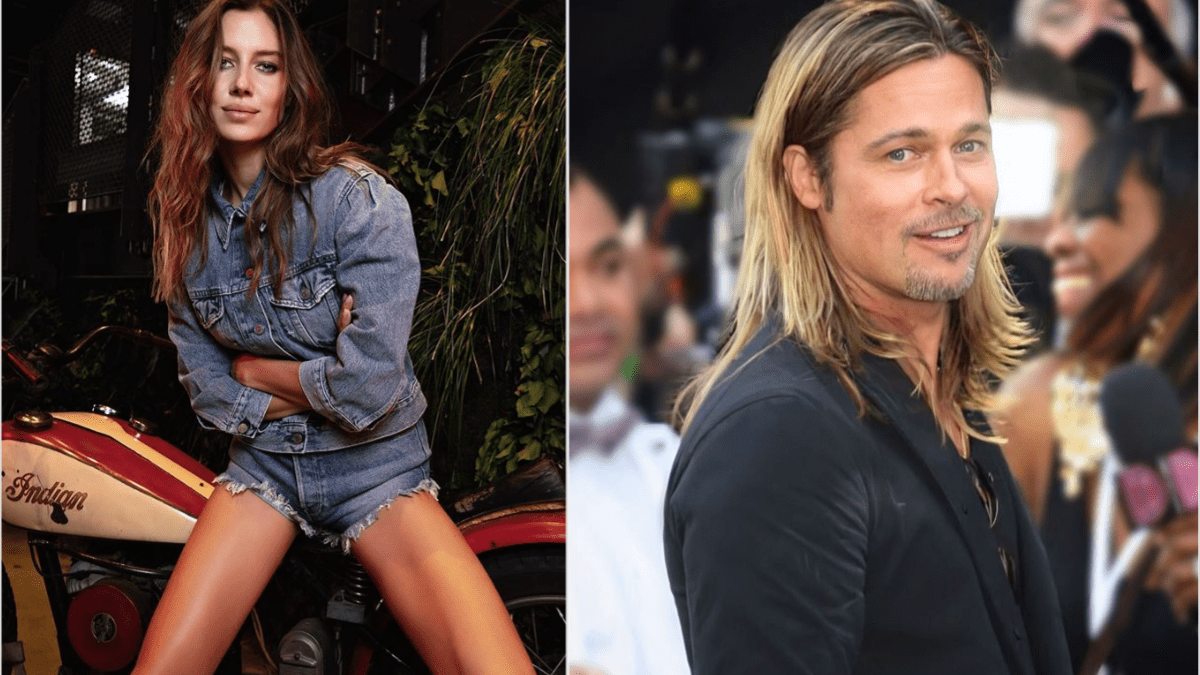 Brad Pitt's girlfriend Nicole Poturalski