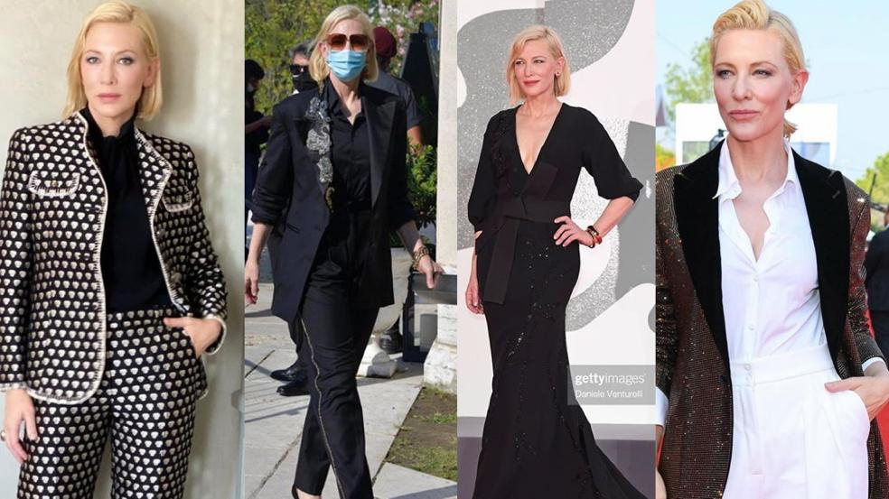 Cate Blanchett sustainable fashion at Venice Film Festival
