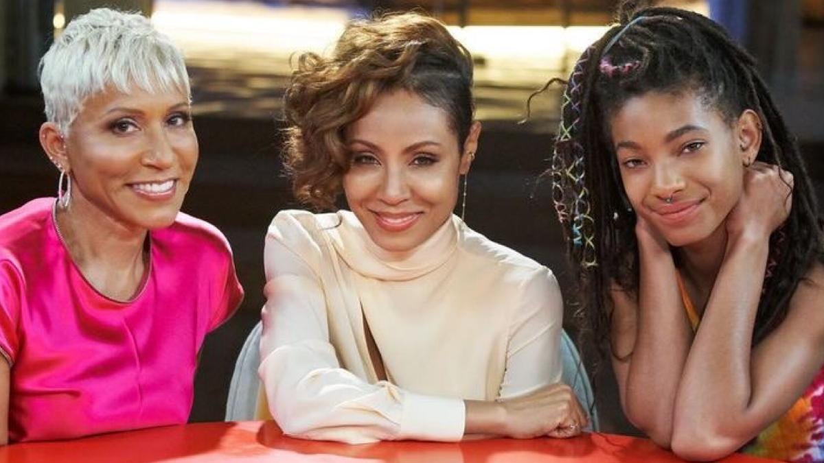 Jada Pinkett and Willow Smith Red Table Talk