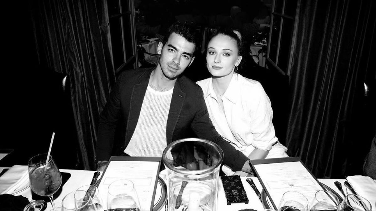 ophie Turner and Joe Jonas