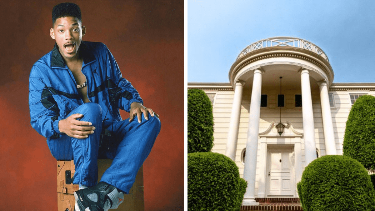Will Smith, fresh prince of bel air mansion