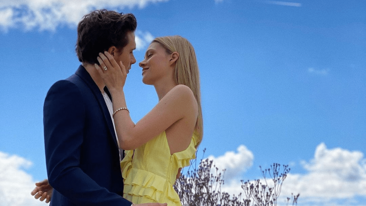 Brooklyn Beckham and Nicola Peltz wedding