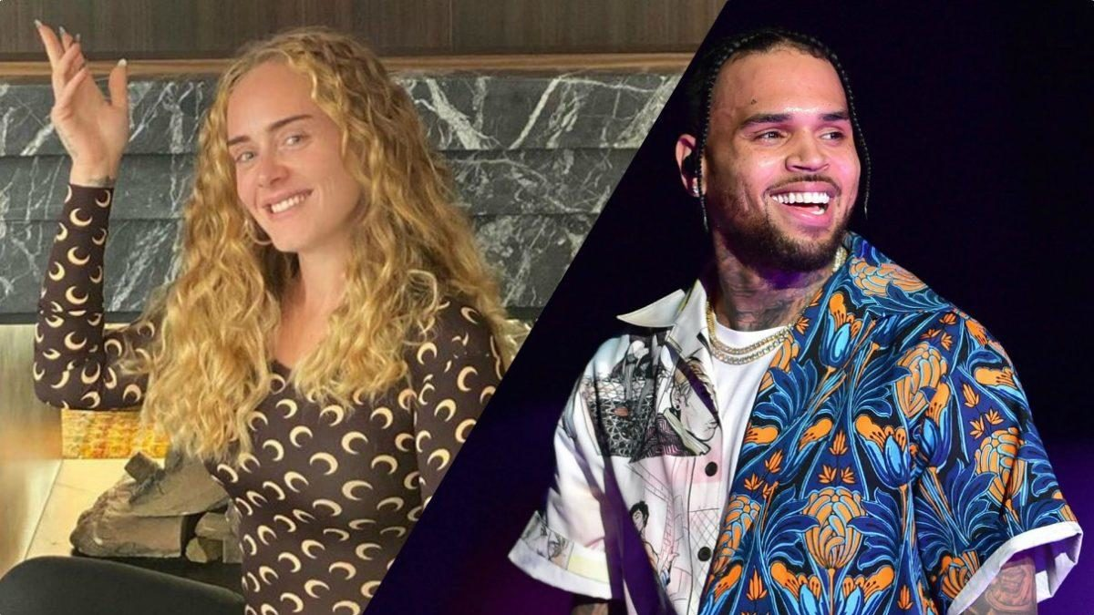Chris Brown And Adele Have A Late Night Cloak And Dagger Get Together