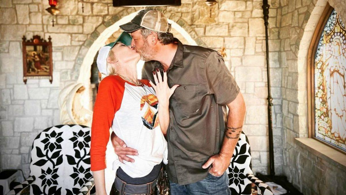 Gwen Stefani and Blake Shelton engagement engaged