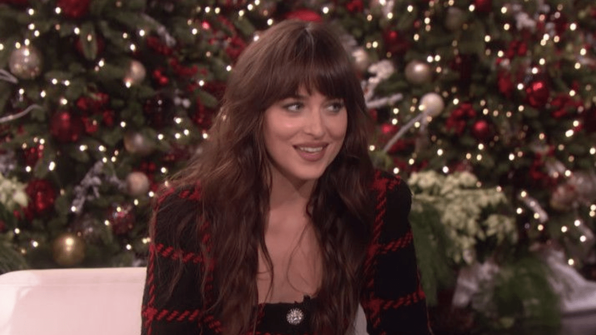 Dakota Johnson's interview