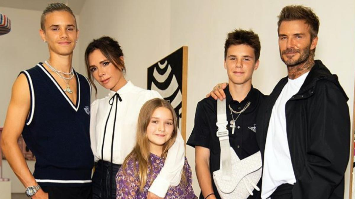 David and Victoria Beckham Halloween costumes