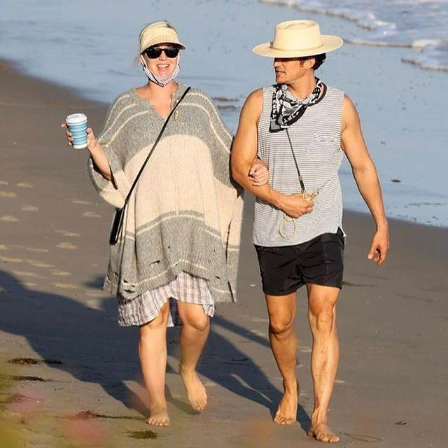 Katy Perry and Orlando Bloom pregnant