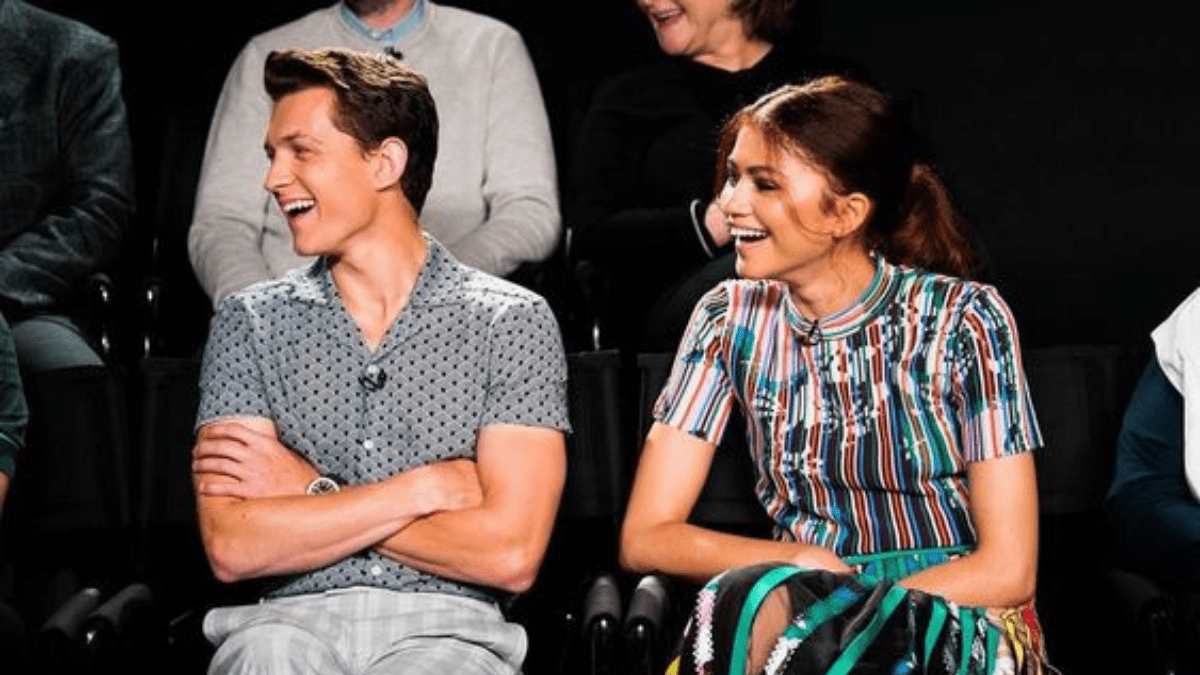 Tom Holland and Zendaya