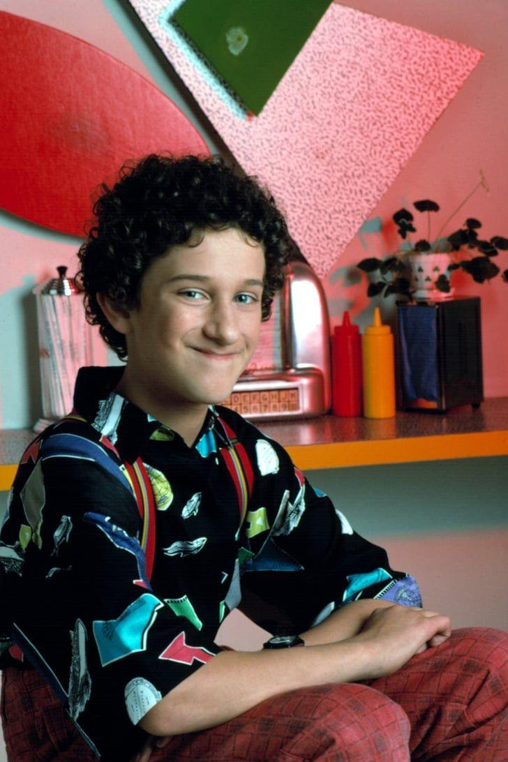 Dustin Diamond in Saved by the Bell hospitalized