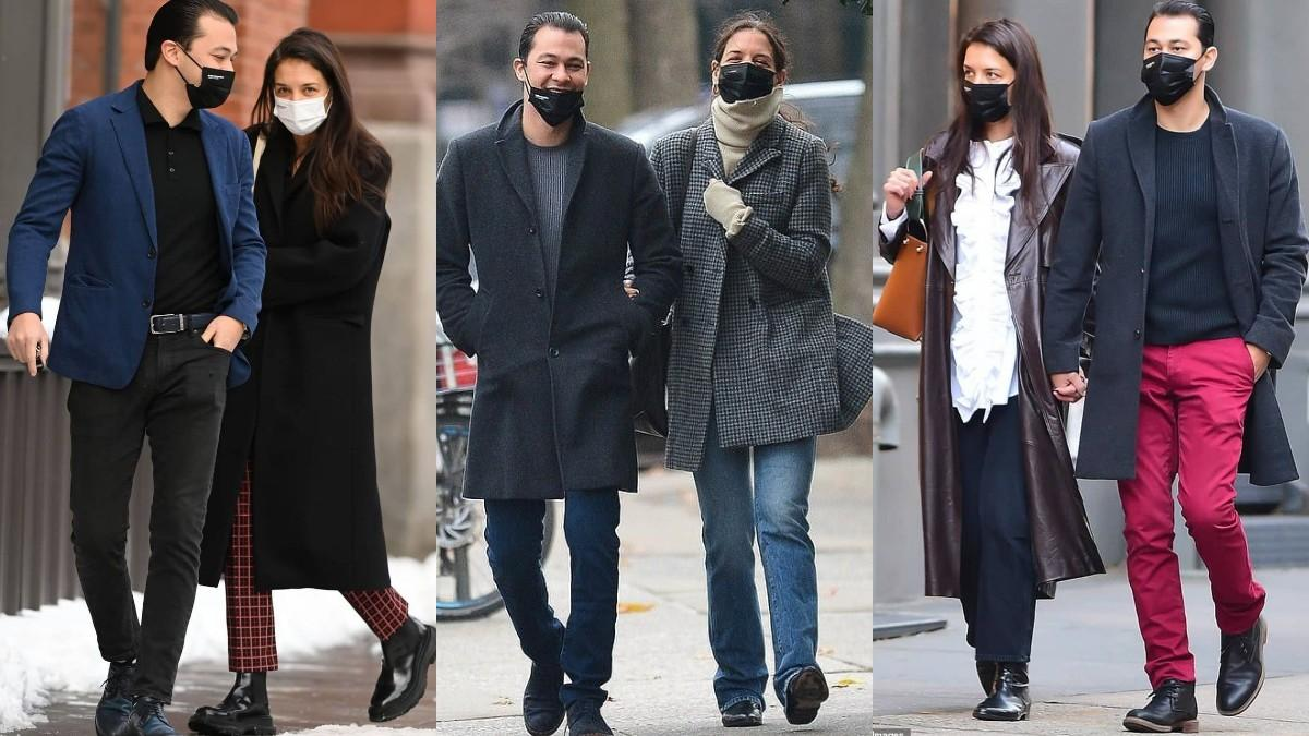 Katie Holmes and Emilio style