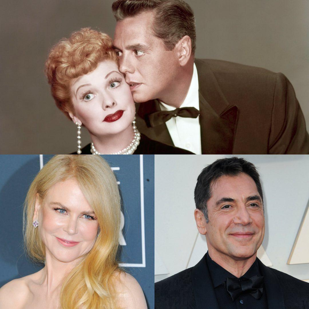 Nicole Kidman Lucille Ball and Desi Arnaz