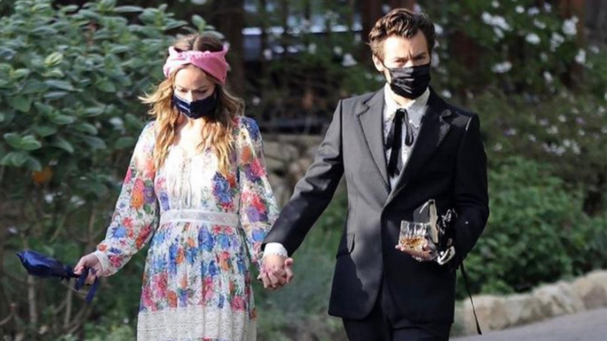 Olivia Wilde And Harry Styles Held Hands At A Wedding And ...