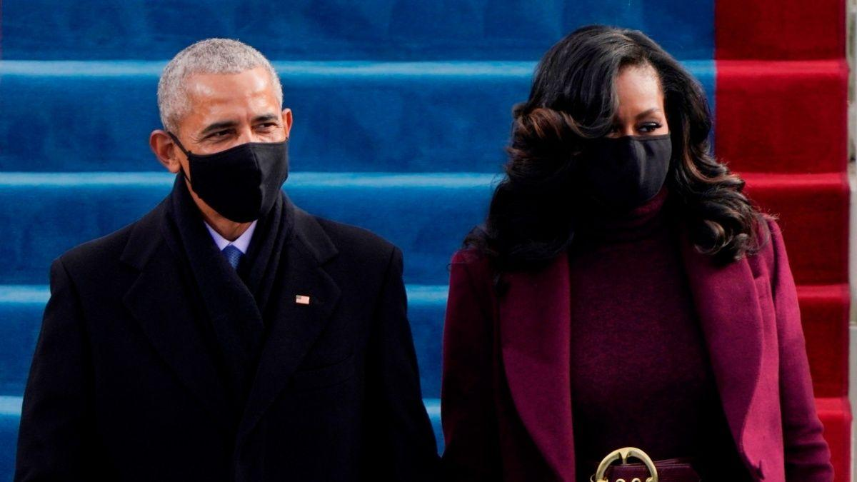 Michelle Obama's Stylist & Makeup Artist Spills The Secrets Behind Her Successful Inauguration Look