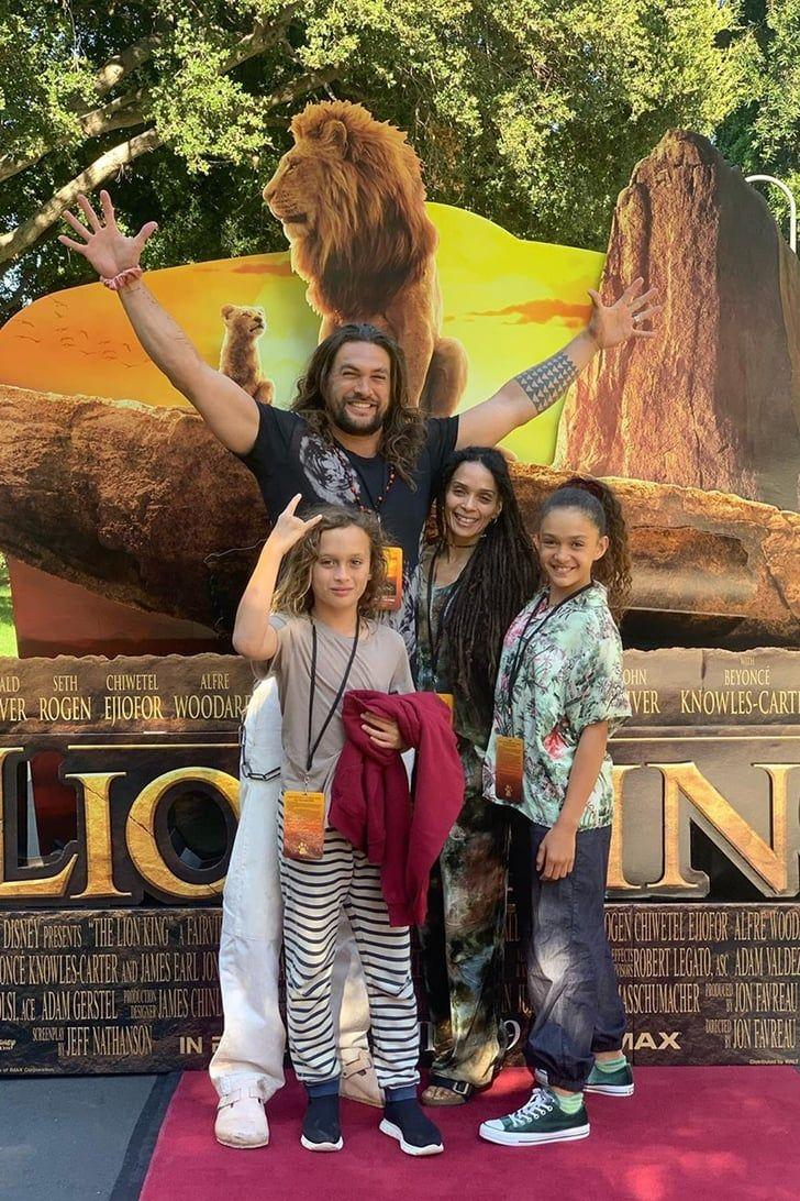 jason momoa and Lisa Bonet  children