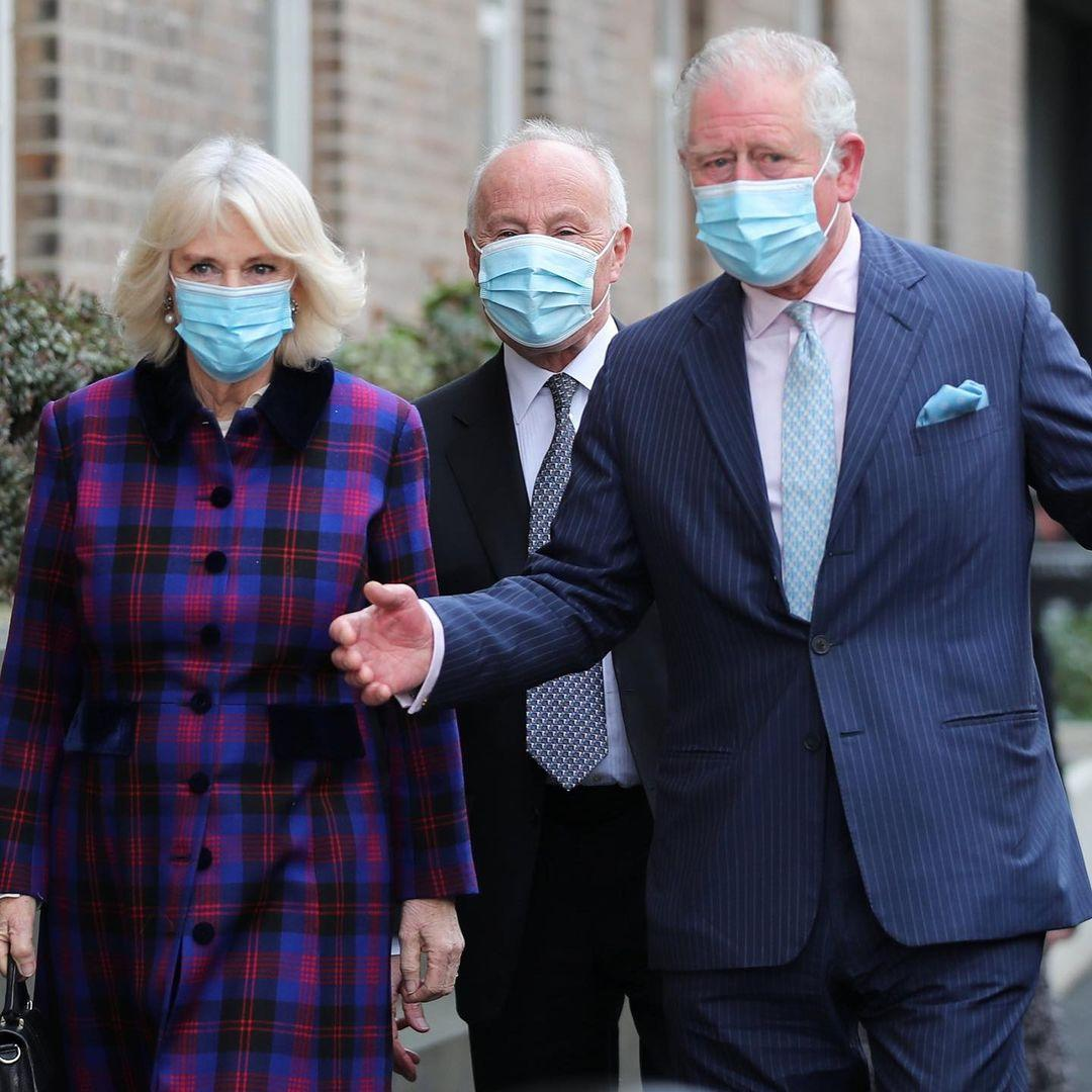 Camilla Parker and Prince Charles vaccine