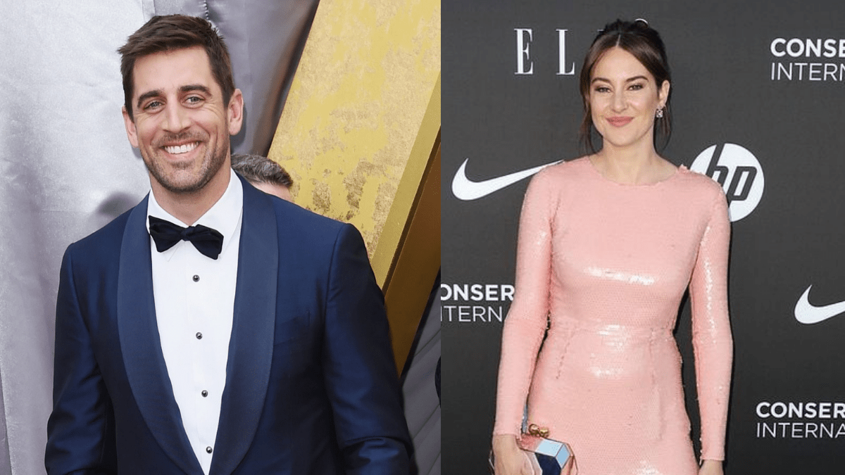 Aaron Rodgers and Shailene Woodley `