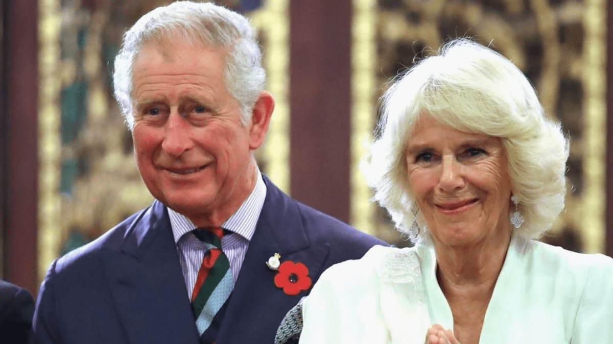 Camilla Parker and Prince Charles