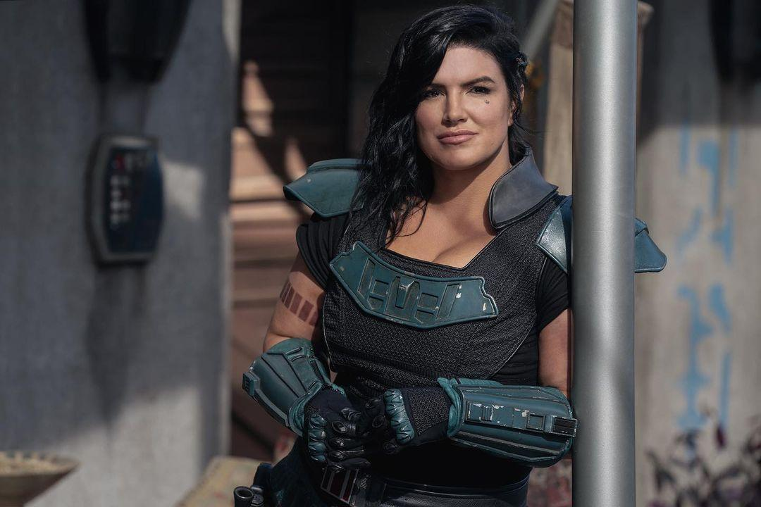 Gina Carano Defended By Her 'The Mandalorian' Co-Star Bill ...