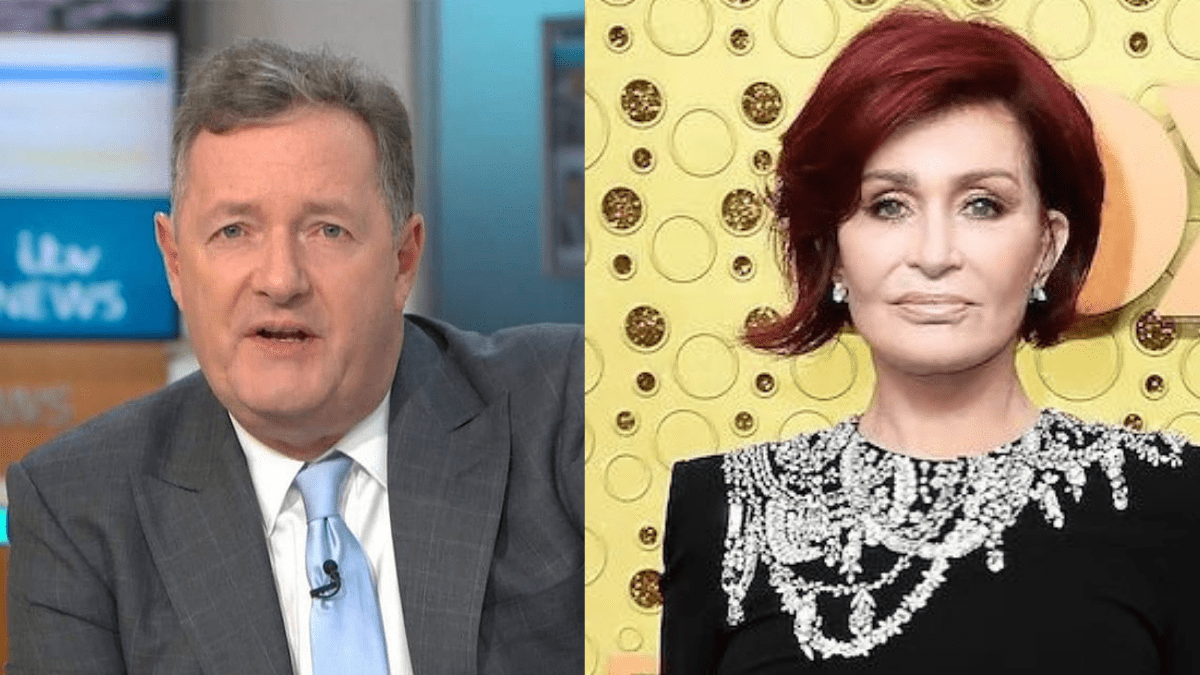 Piers Morgan Sharon Osbourne