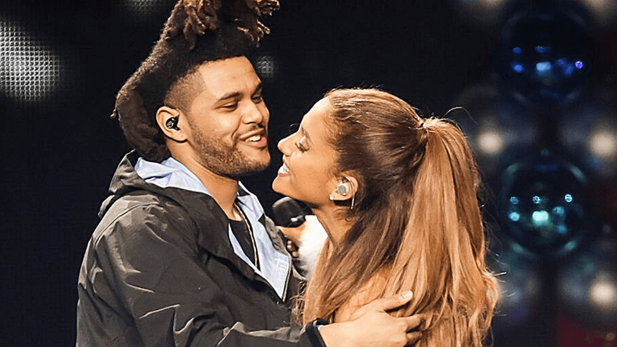 Ariana Grande and The Weekend