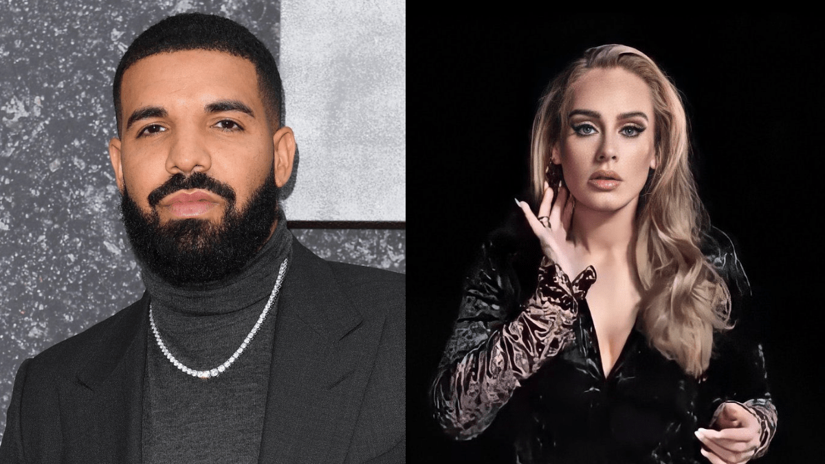 Drake Adele Oscars After Party