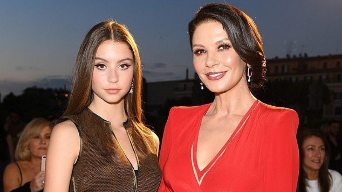 Catherine Zeta-Jones daughter Carys Jones Douglas