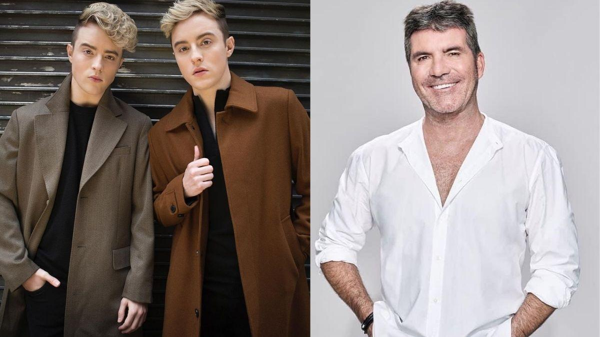 jedward simon cowell cover image