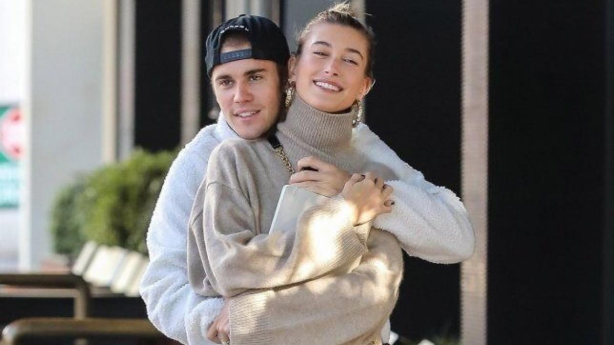 Justin Bieber and Hailey Bieber shopping trip