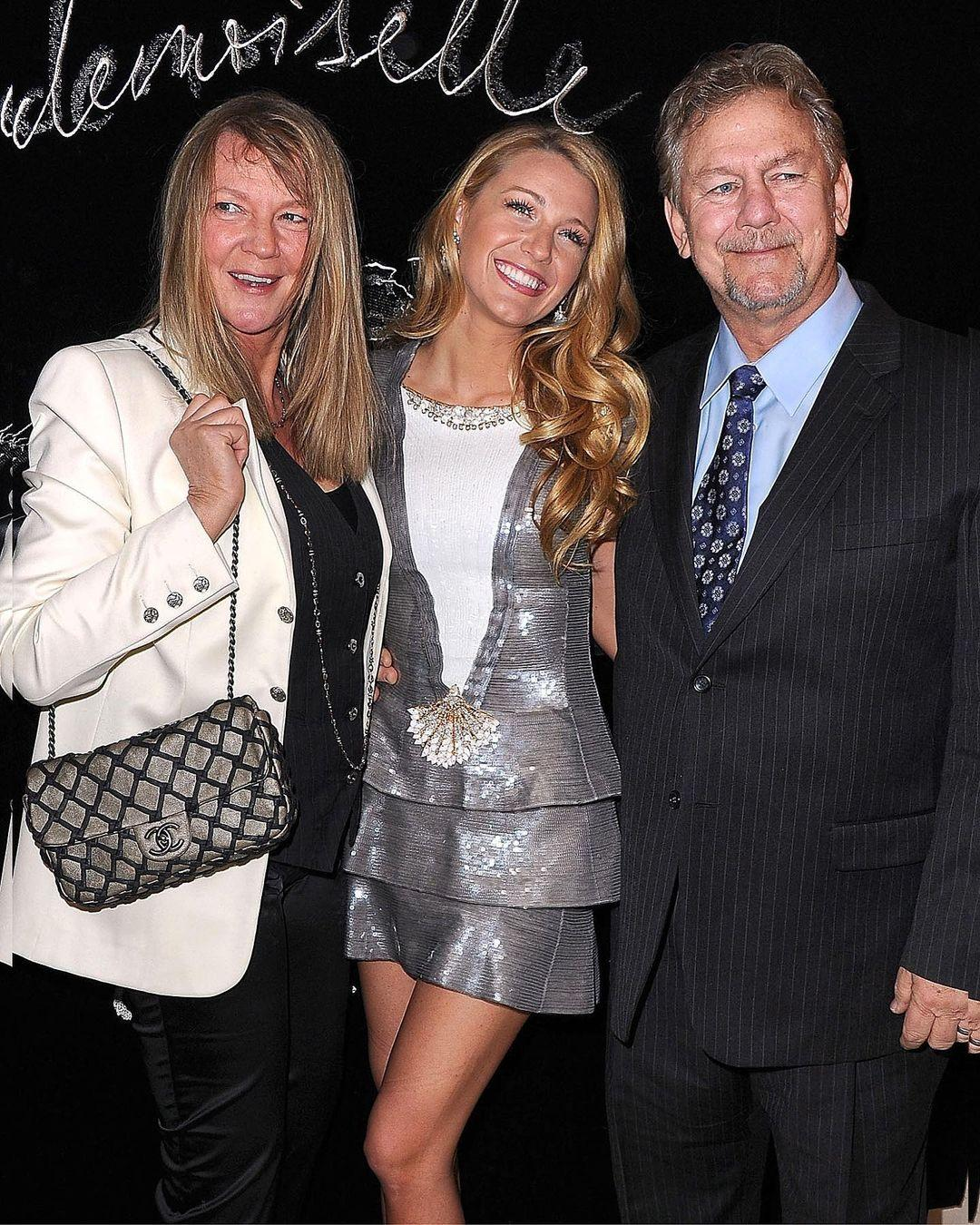 Blake Lively and her parents