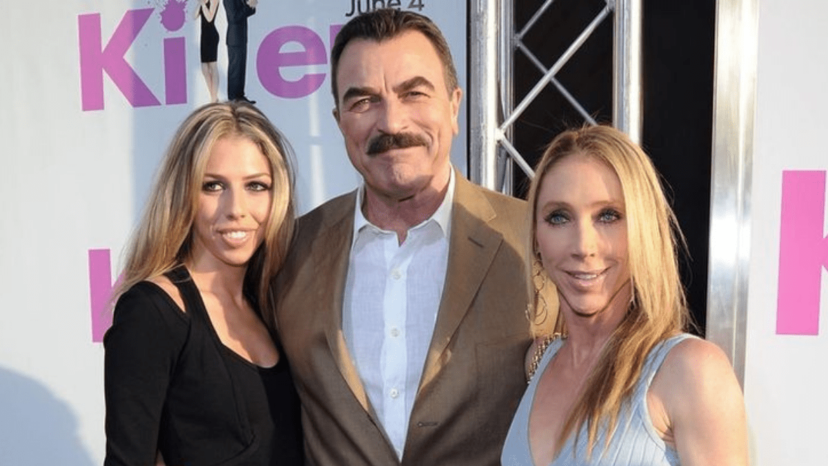 Tom Selleck wife and daughter